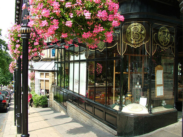 The Famous Bettys Tea Room in Harrogate, North Yorkshire
