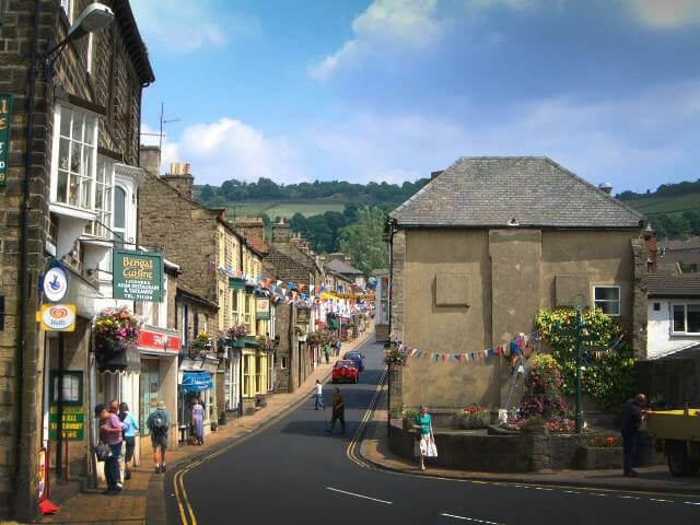 Pateley Bridge High Street North Yorkshire