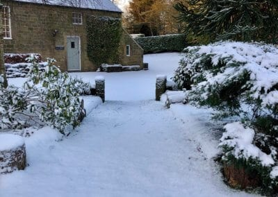 A Snowy Pathway
