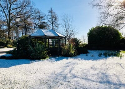 March Snow Summer House