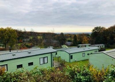 Autumn rooftops